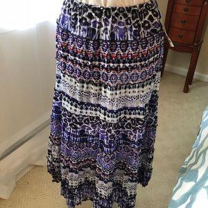 NWT JM Collection midi skirt